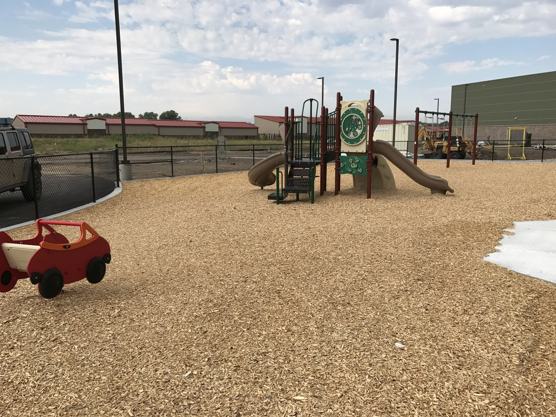 KindiePrep outside playground with play equipment