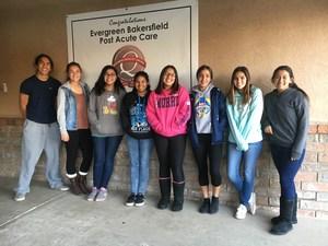 Elder Elf students from Highland High School.