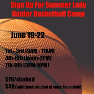 basketball with summer camp schedule