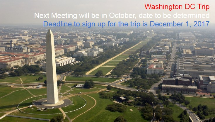 Washington DC Trip Information