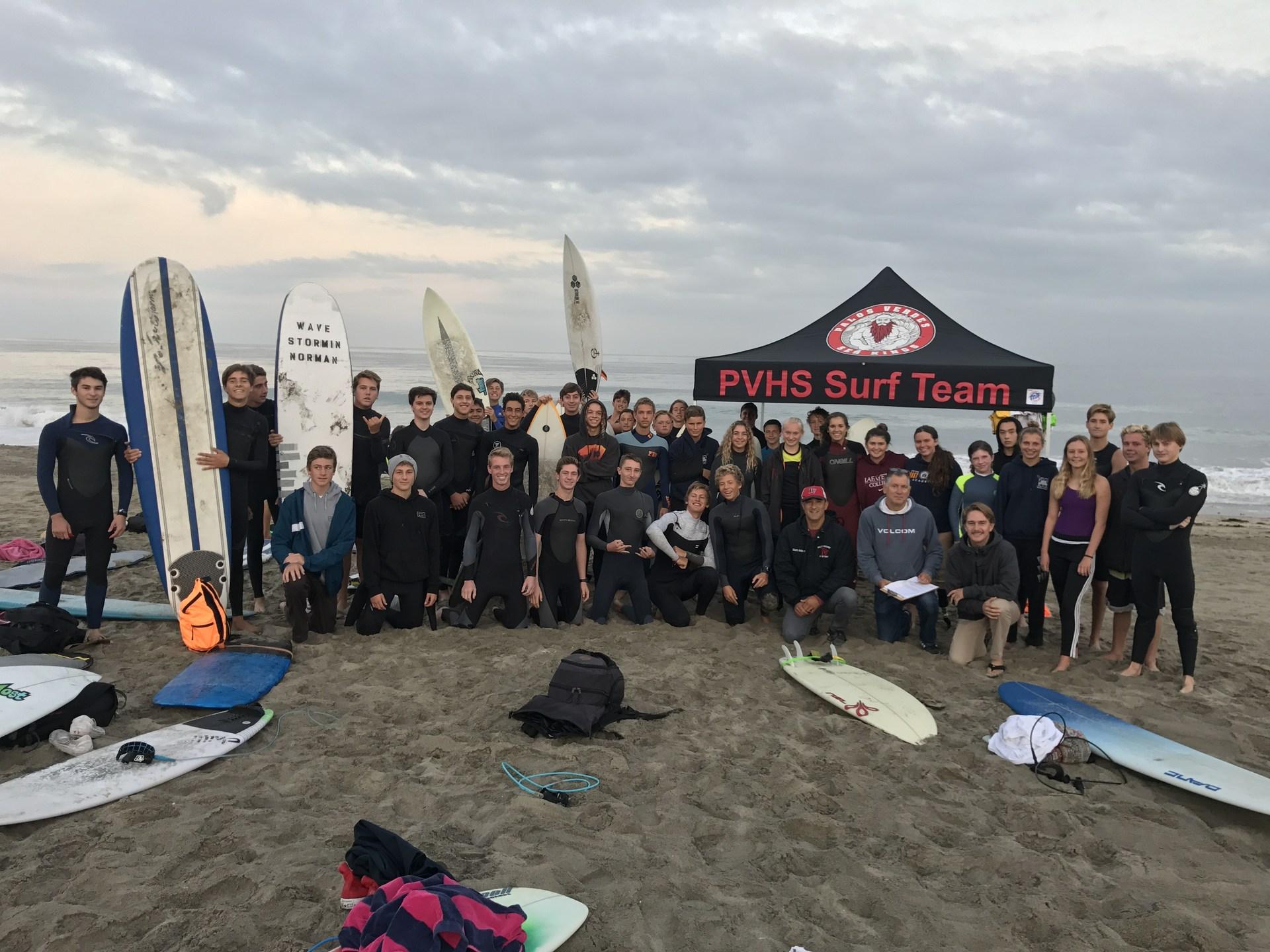 PVHS Surf Team