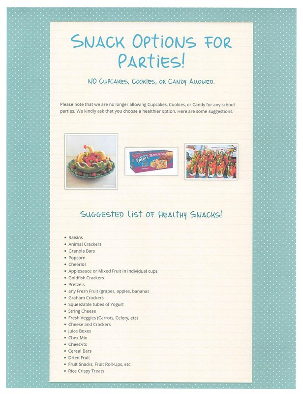 Snack Options for Parties has Changed!!! Thumbnail Image