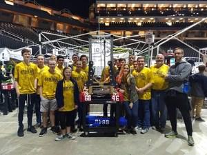 Central robotics team invited to world championship