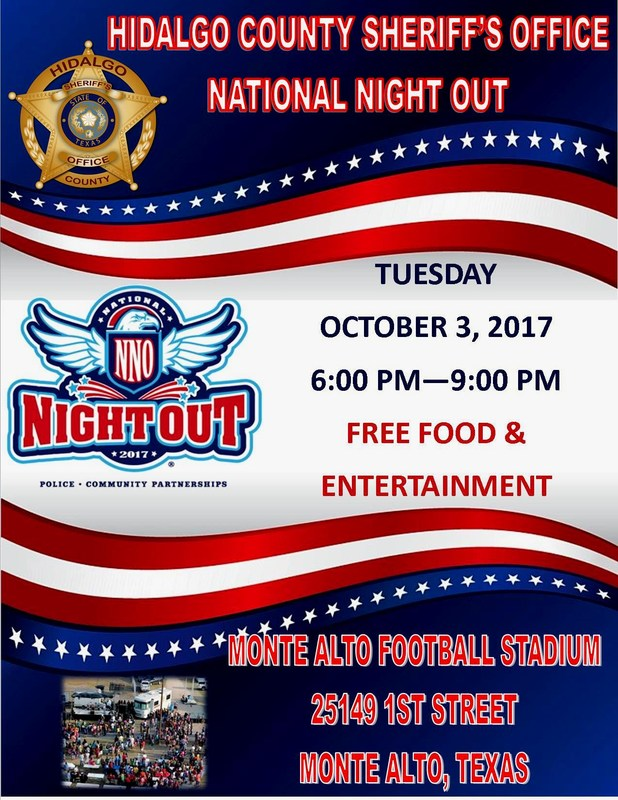 Hidalgo County Sheriff's Office National Night out Featured Photo