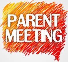 Parent Meeting words