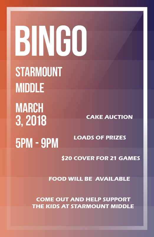 Come Out to SMS Bingo Night! Thumbnail Image