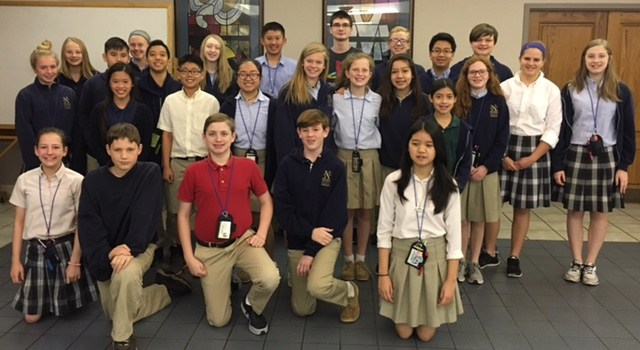 Middle Schoolers Recognized for Achievements Thumbnail Image