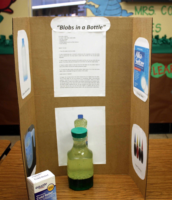 Blobs In A Bottle - Bottle Designs