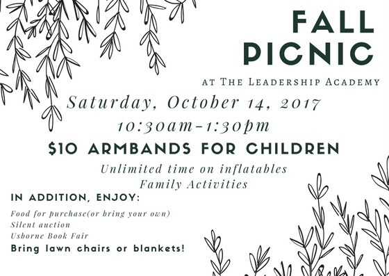 Save the Date for the Fall Picnic! Featured Photo