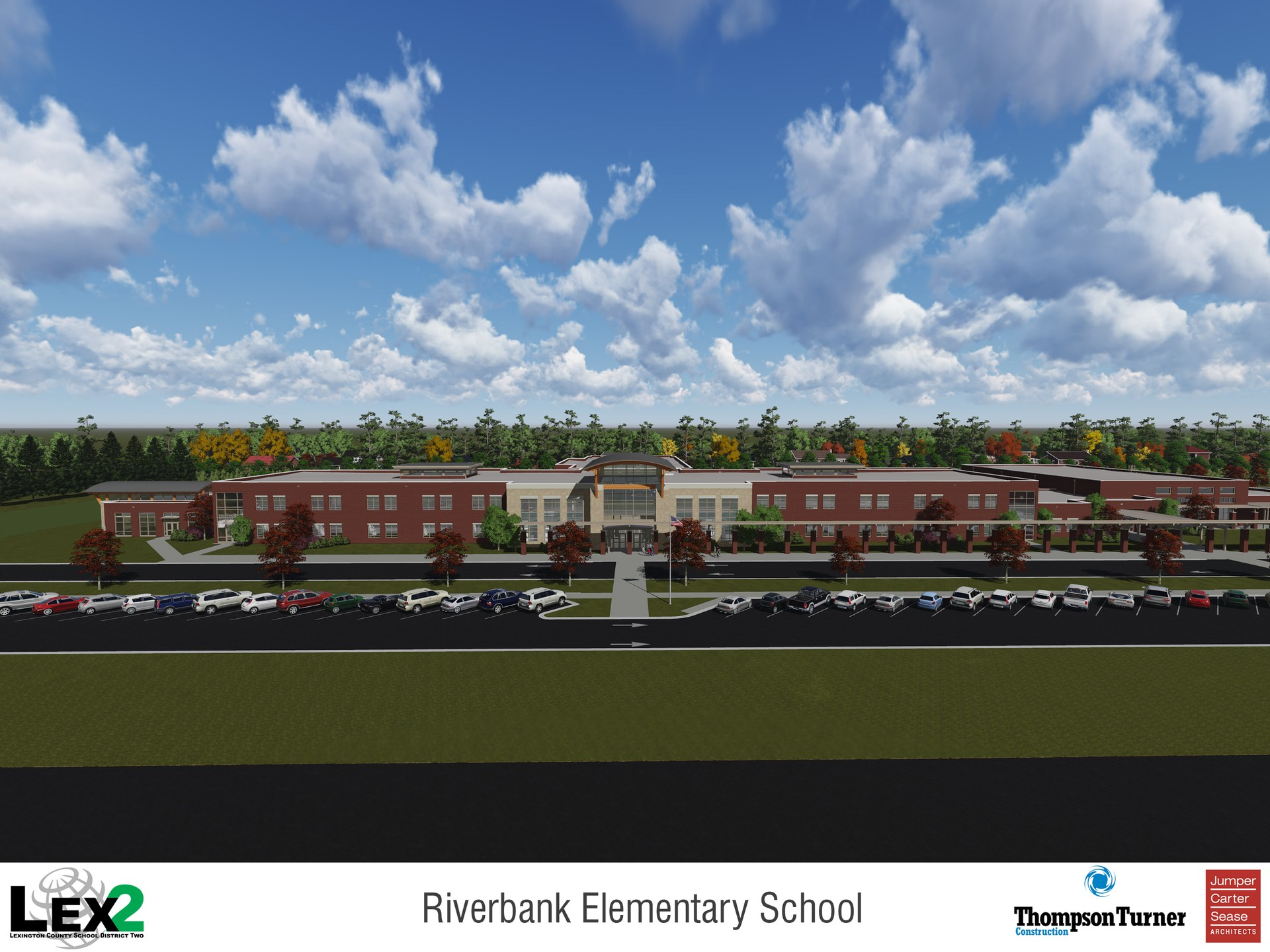 Riverbank Elementary opened August 2018 welcoming students from former B-C Grammar School #1 and Pineview Elementary.