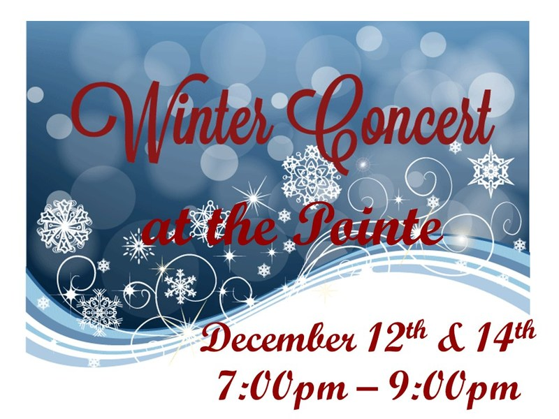 Winter Concerts are Here! Featured Photo