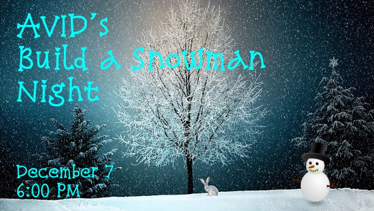 AVID Build a Snowman