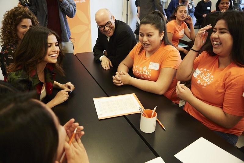 Selena Gomez Visits Bloomfield Thumbnail Image