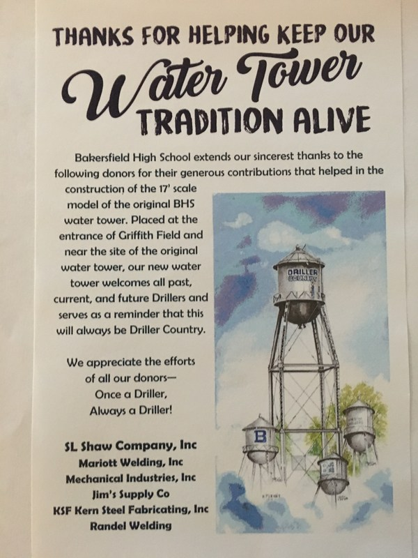 Water Tower Tribute Thumbnail Image