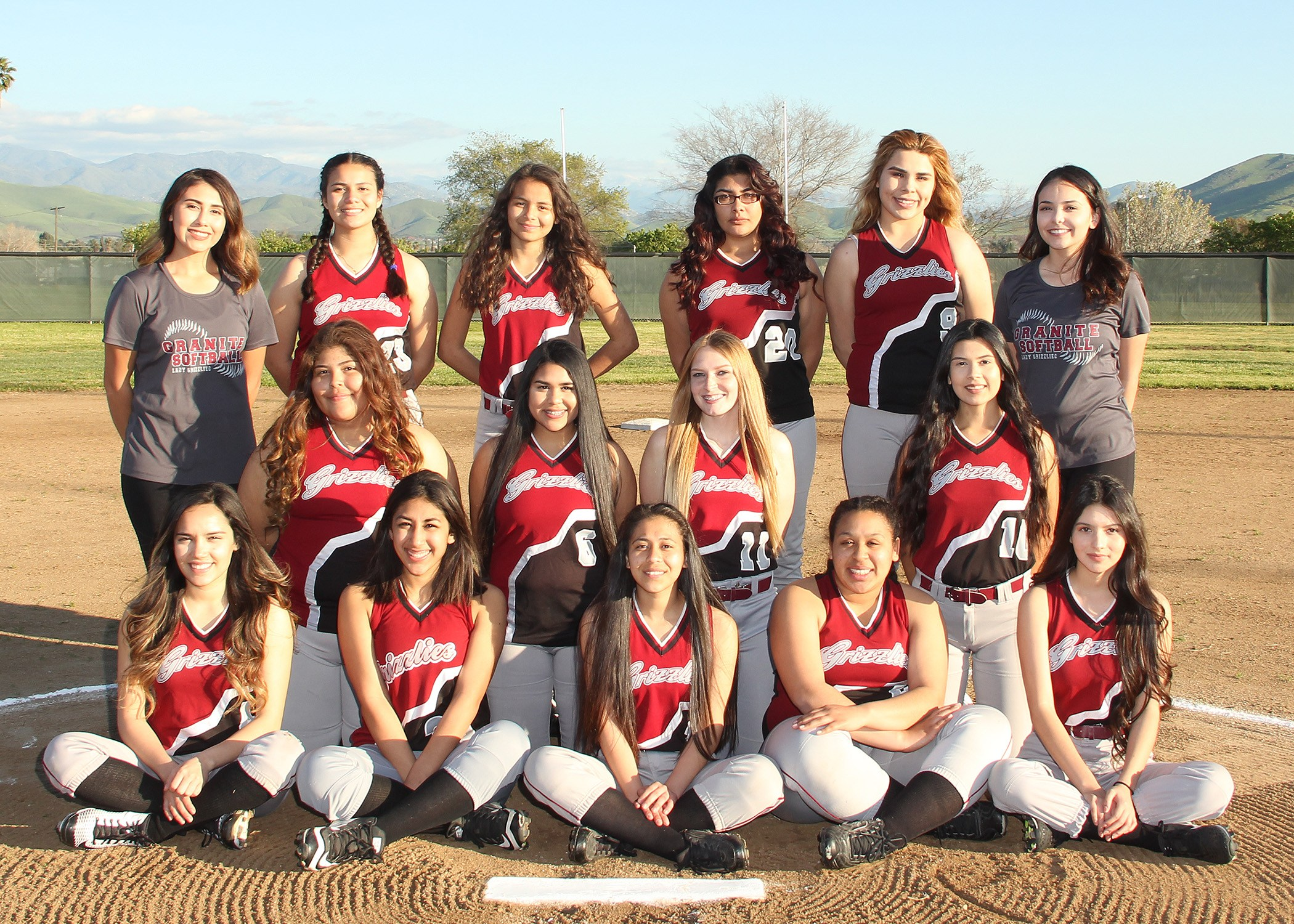 Lady JV Softball