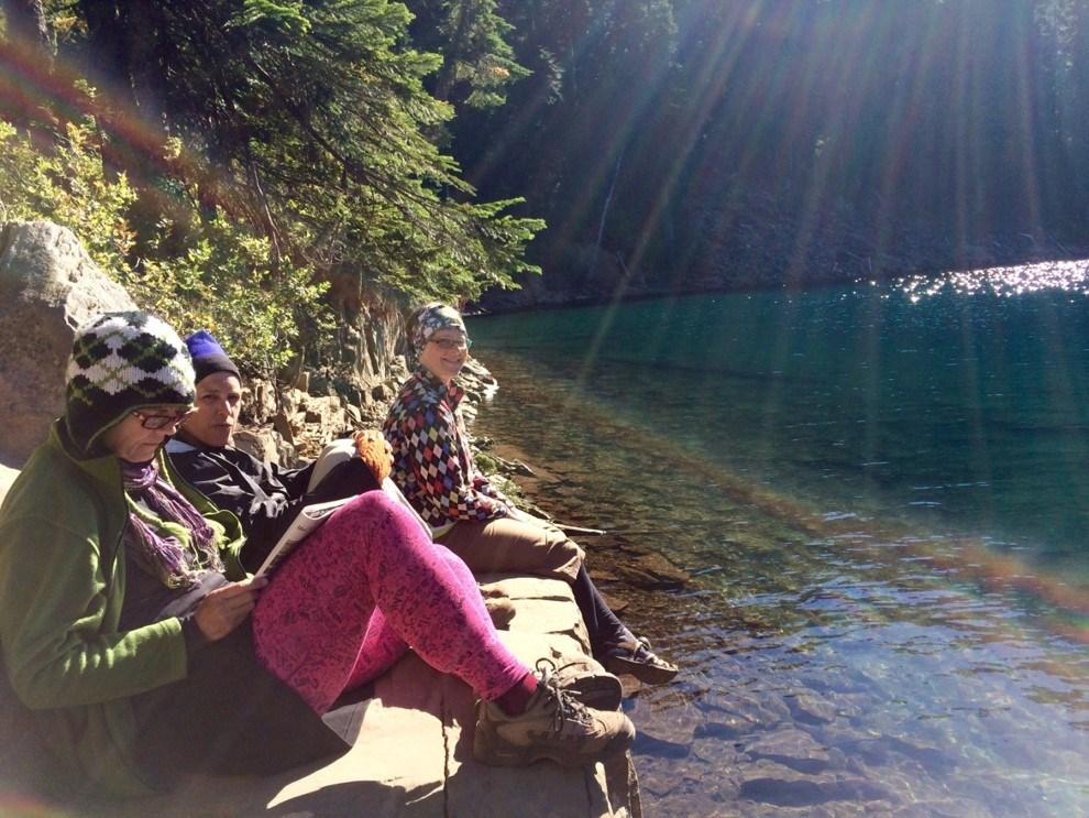 Backpacking--Deep Lake