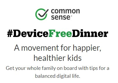 Try a Device Free Dinner! Thumbnail Image
