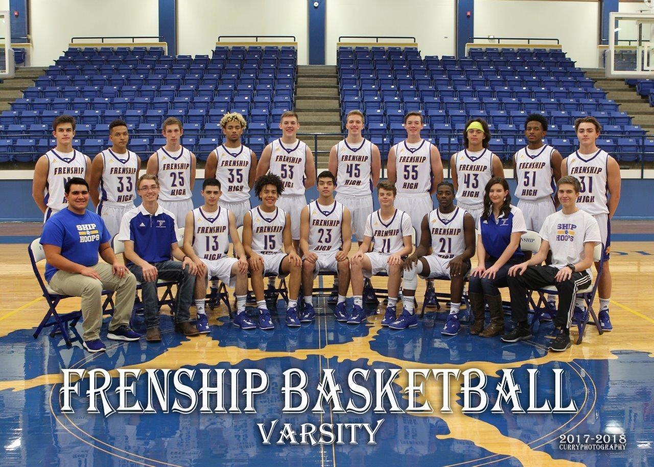 Frenship Boys Basketball Team Picture