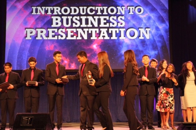 FBLA Introduction to Business Presentation 5th place winners State Leadership Conference