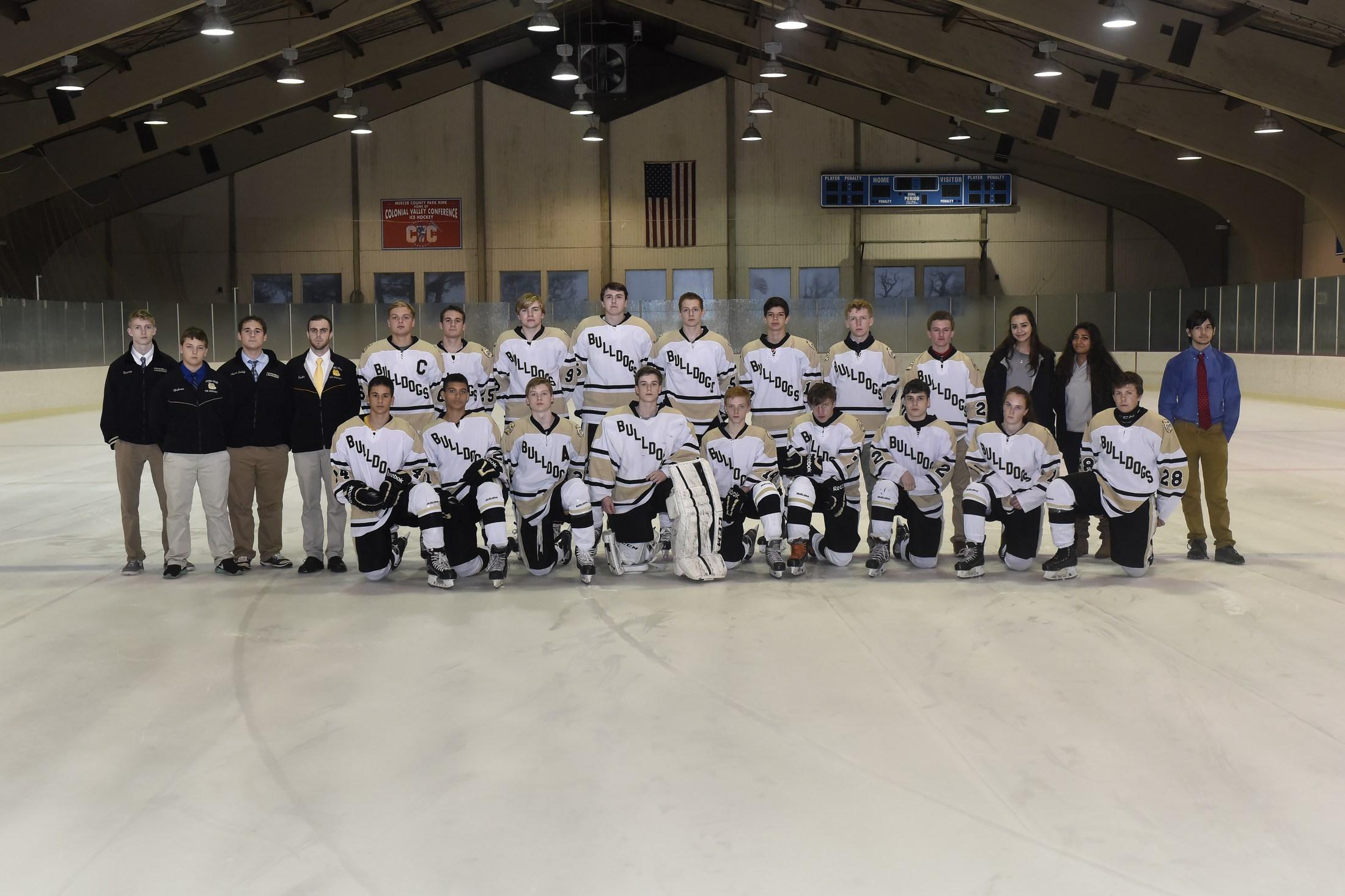 CHS boys ice hockey team picture