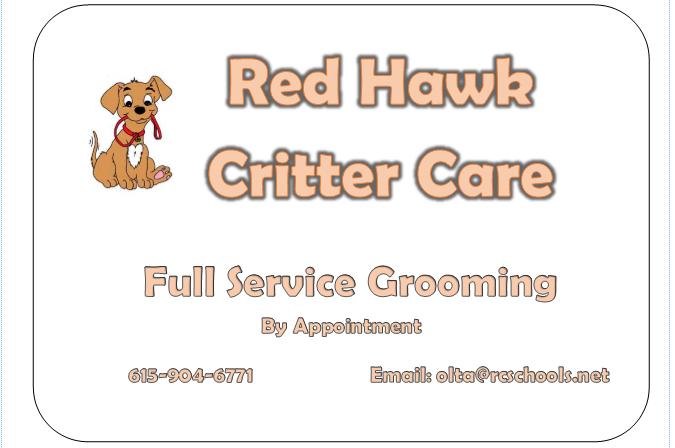 grooming info