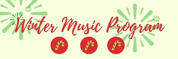 Winter Music Program Featured Photo