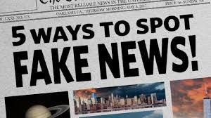 This Just In!  Breaking News! Learn to Spot Fake News! Thumbnail Image
