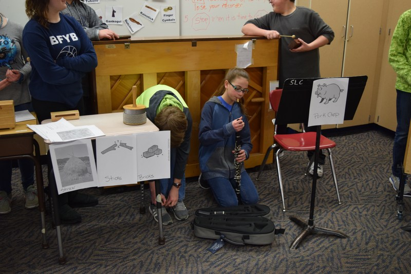 6th Grade Music re-creates Classic Children's Stories Thumbnail Image