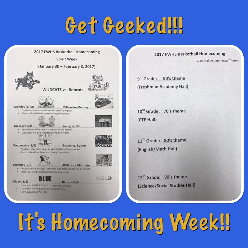 Homecoming Week Themes Thumbnail Image
