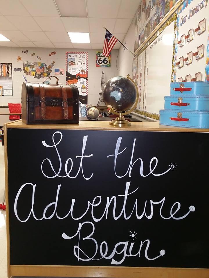 Let the adventure begin 4th Graders!