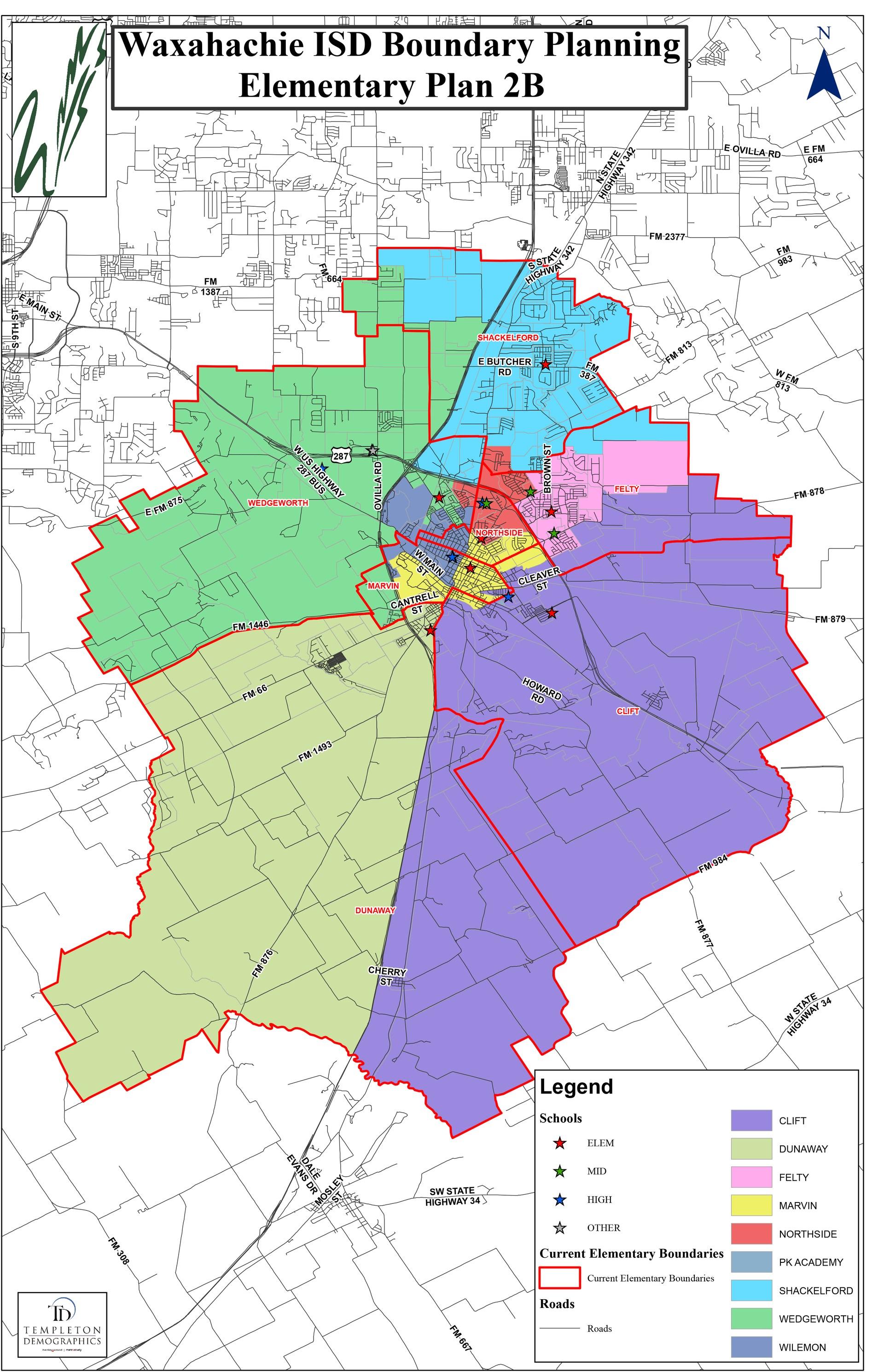 Elementary Rezoning Map