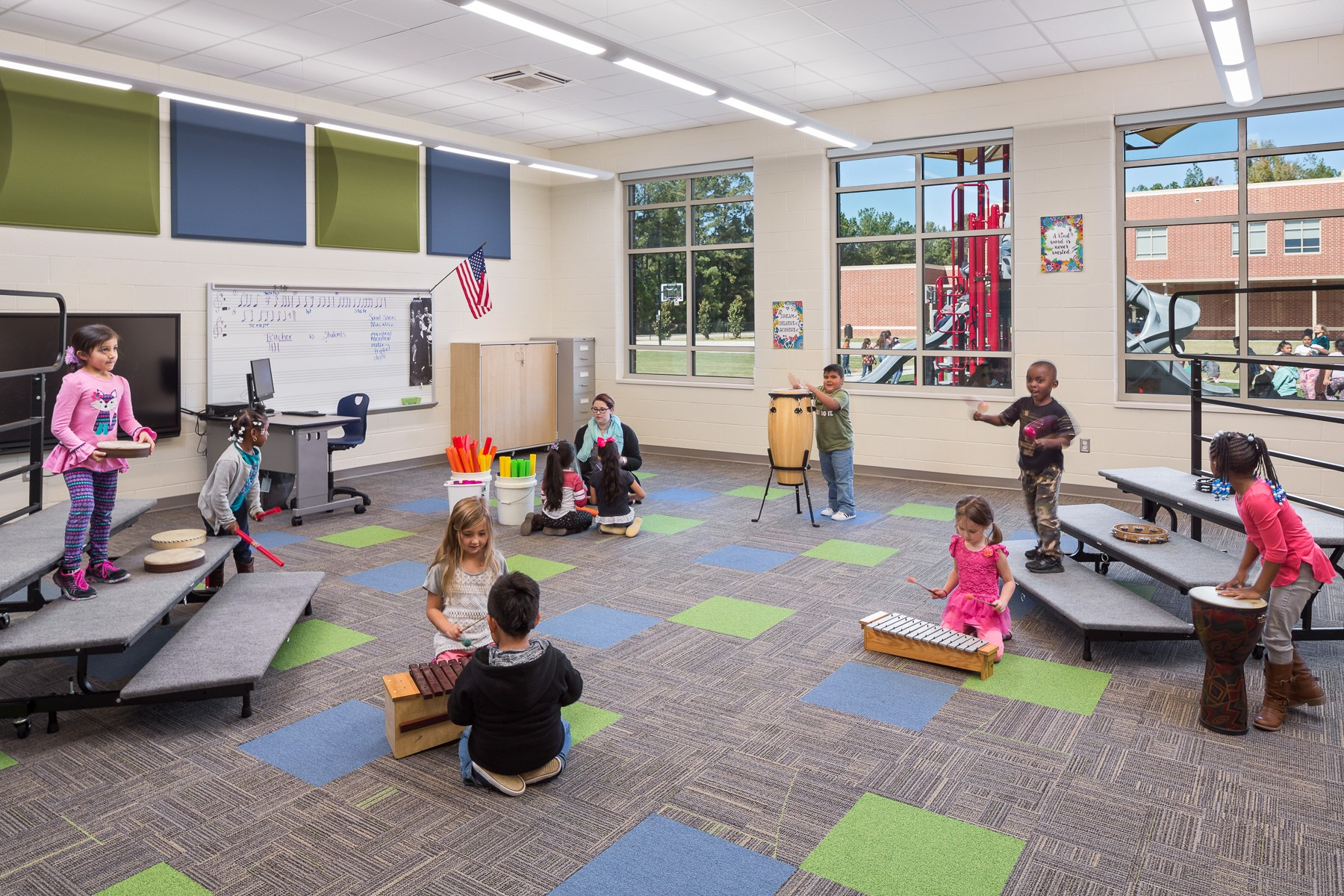 Cayce Elementary - Music Room