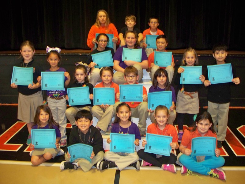 Boothville-Venice Elementary School 2nd Nine Weeks Perfect Attendance and Honor Roll Thumbnail Image