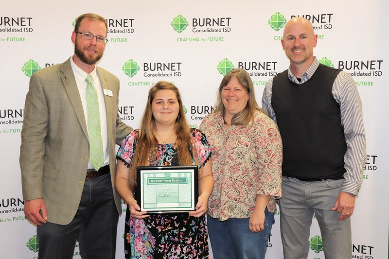 Holly Rhames Named Student of the Month for April Thumbnail Image