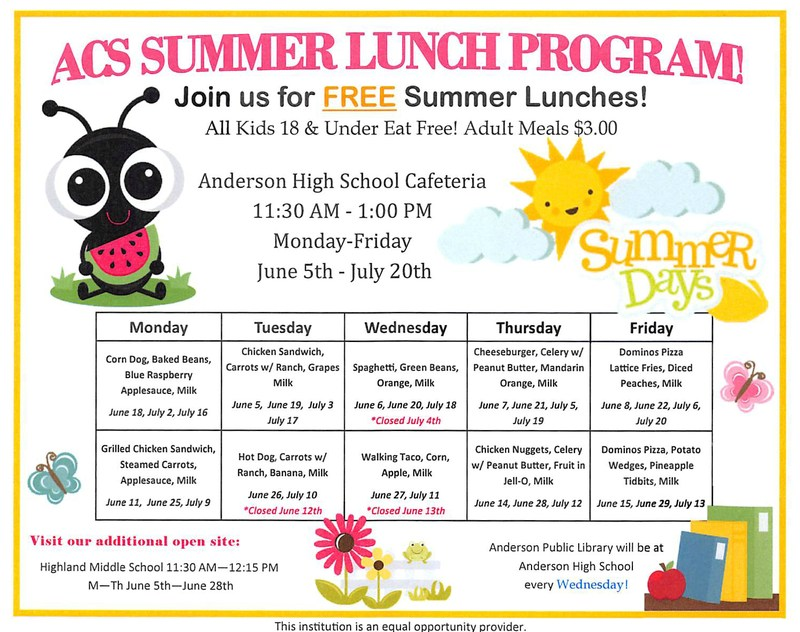 ACS Summer Lunch Program! Thumbnail Image