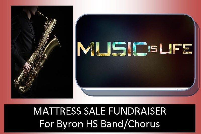 music department fundraiser logo