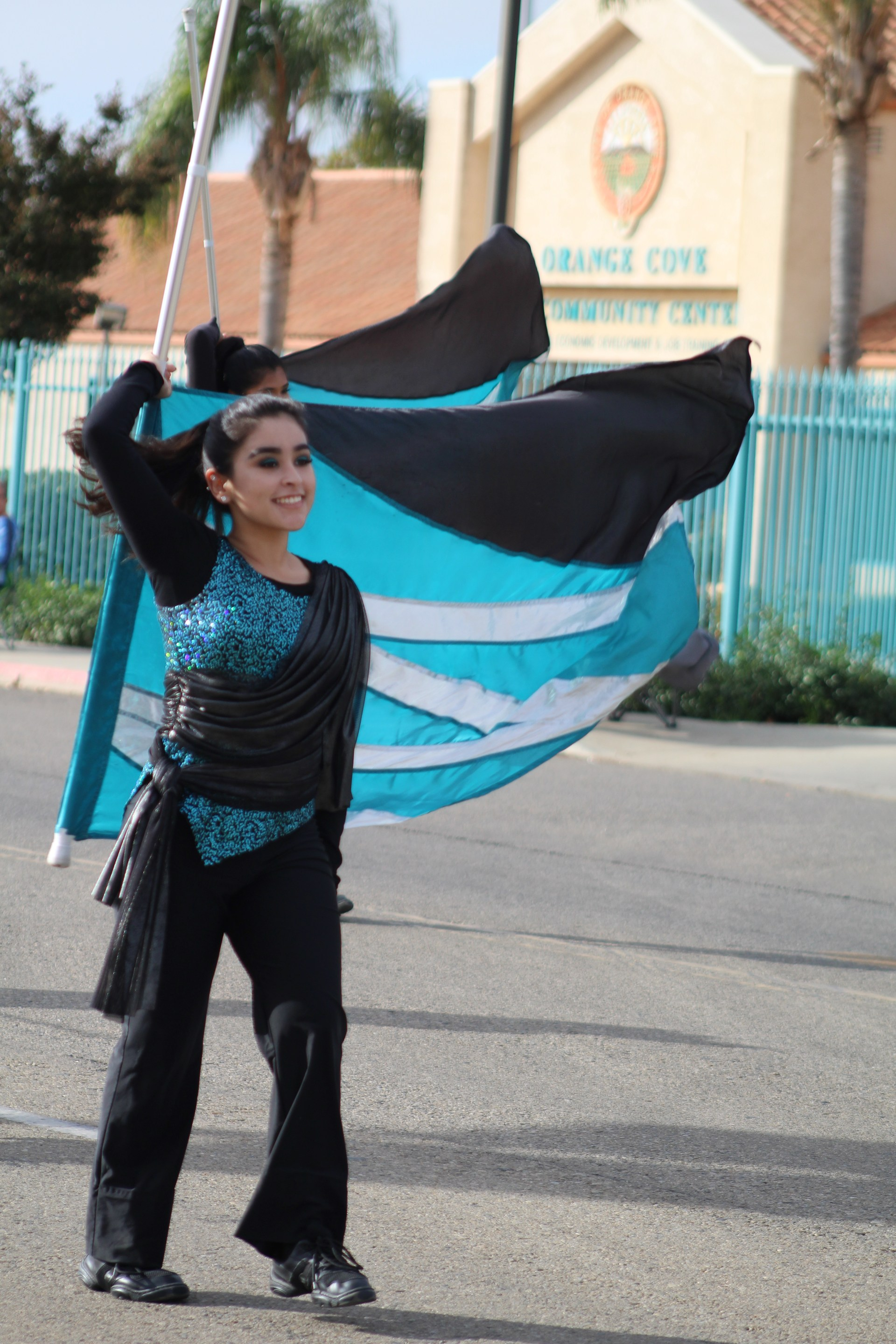 Color Guard at a Parade