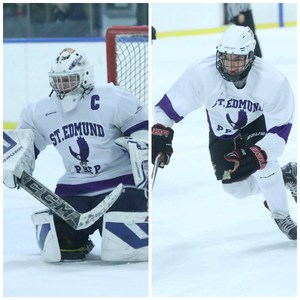 Justin Carricato and John Lundy Named CHSHL All Stars