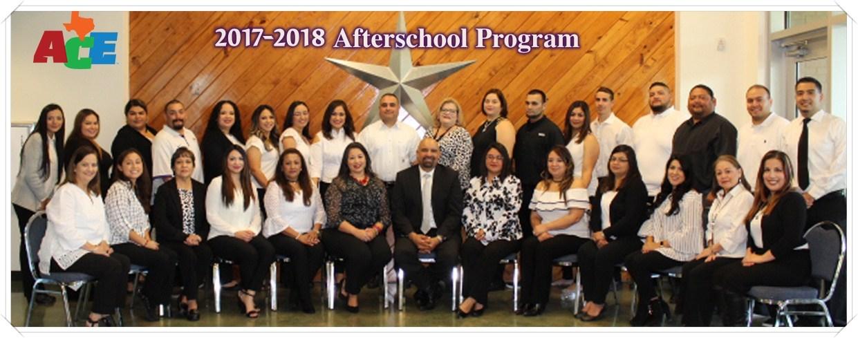 Afterschool Program Staff 2017-2018