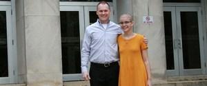 Dr. Kyle Prince and Lindsay Bouldin