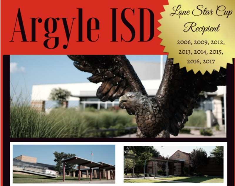 WELCOME TO ARGYLE ISD - DISTRICT BROCHURE - CLICK HERE Thumbnail Image