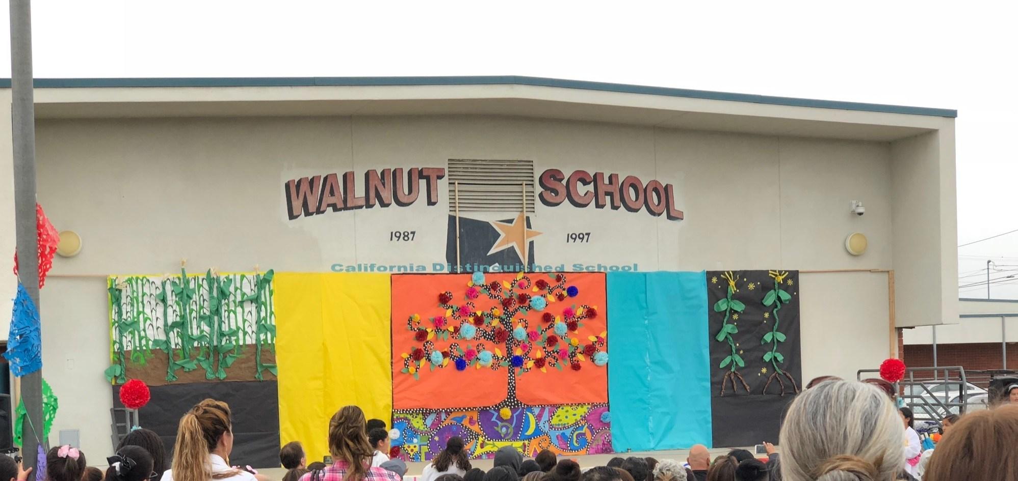 Walnut's outdoor stage