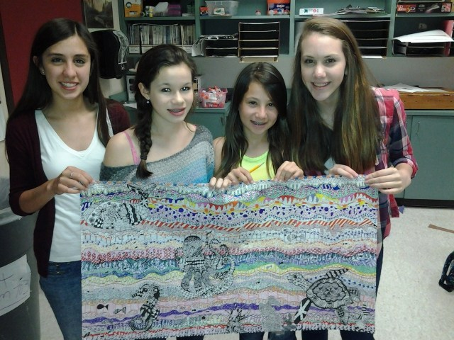 Great Students and Great Artists!