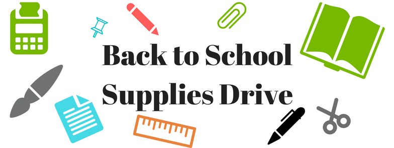 Back to School Supply Drive Thumbnail Image