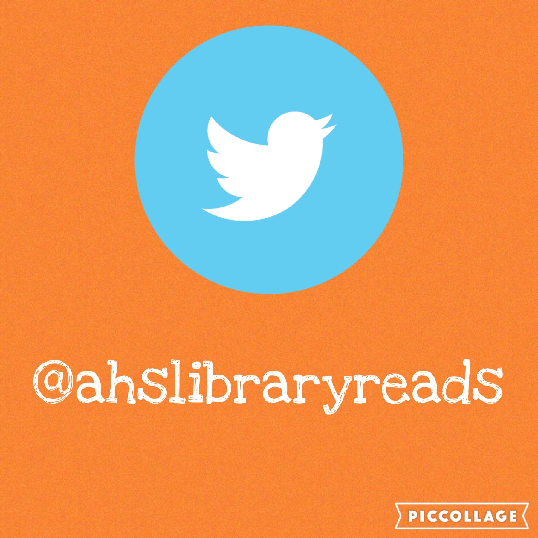 Twitter @ahslibraryreads