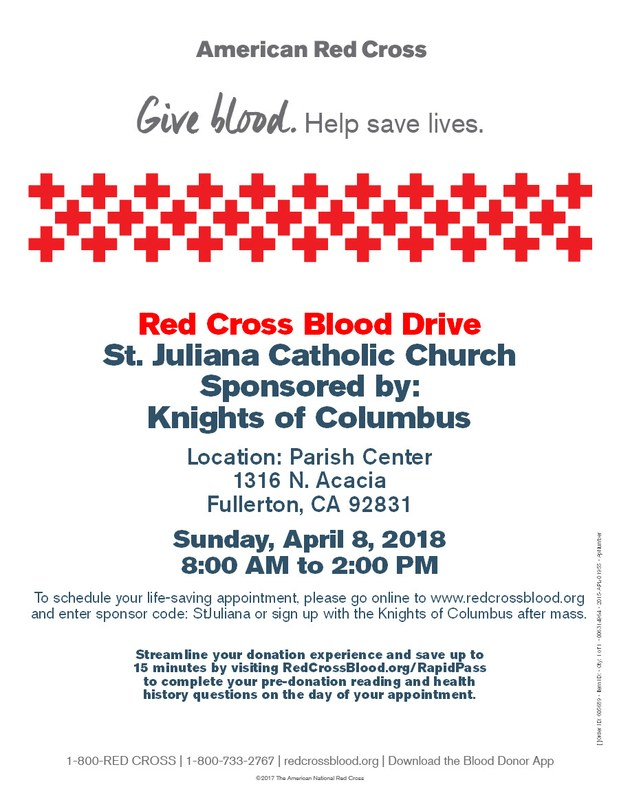 American Red Cross Blood Drive Featured Photo