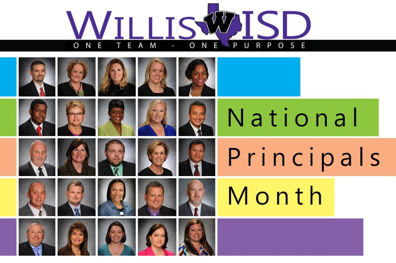 Graphic with all the principals