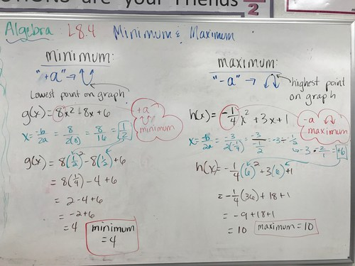 Algebra Notes March 20