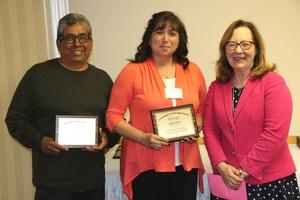 Joanne, Tony & superintendent Imler
