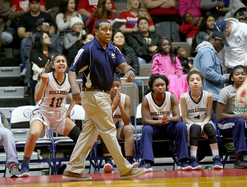 girls basketball and head coach